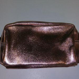 Rose Gold makeup bag